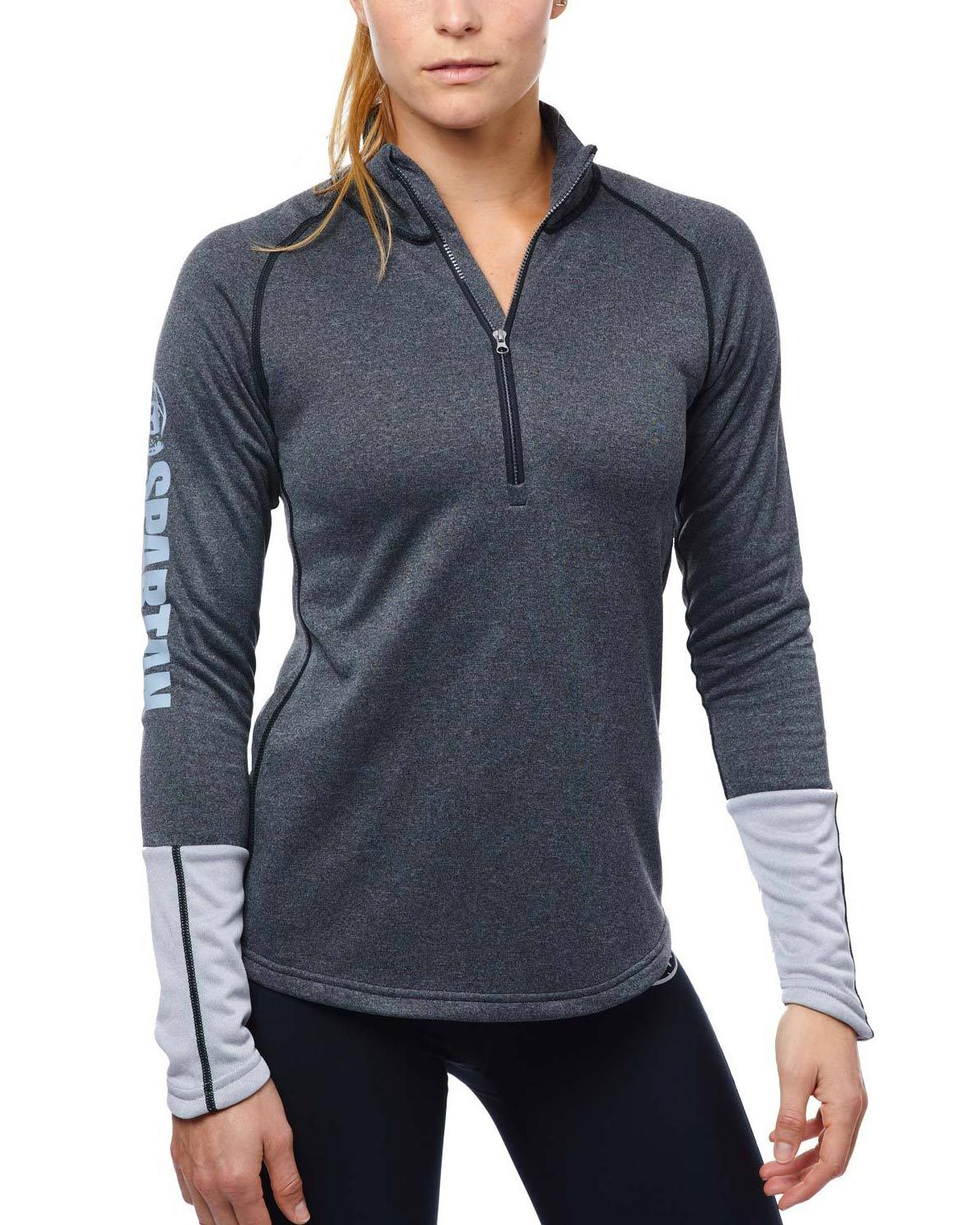 CRAFT SPARTAN By CRAFT Spark Pullover - Women's Black/Gray XS