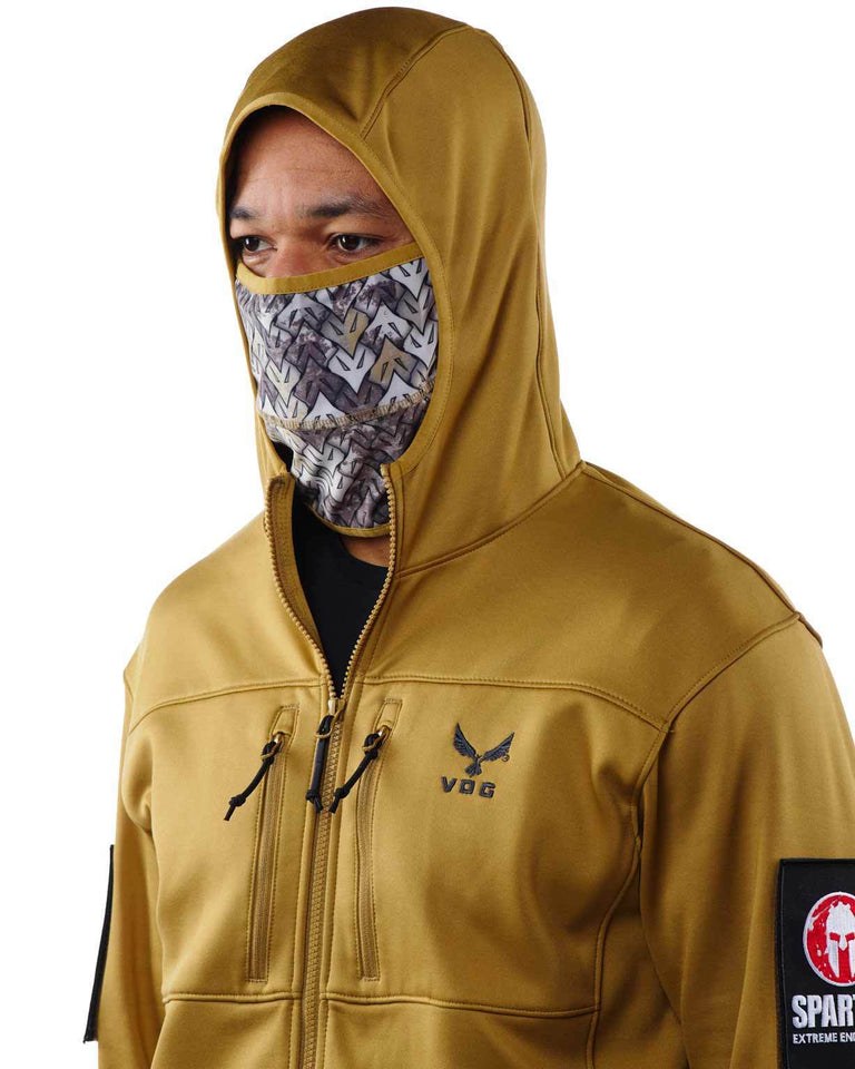 Virtus SPARTAN By Virtus Helios Hooded Jacket - Men's Sand S