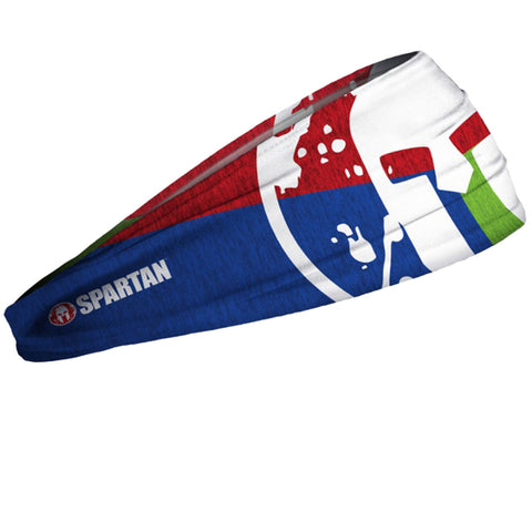 SPARTAN JUNK Headband - Heathered Trifecta