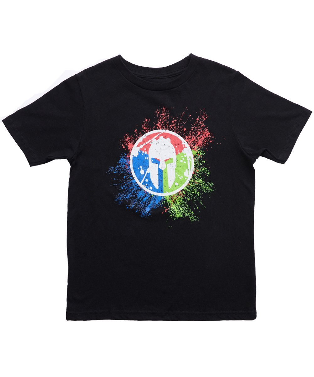 Spartan Race Shop SPARTAN Trifecta Tee - Kids Black S