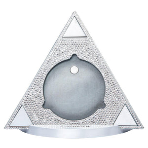 Spartan Race Shop SPARTAN Swarovski Crystal Trifecta Display Delta Plate