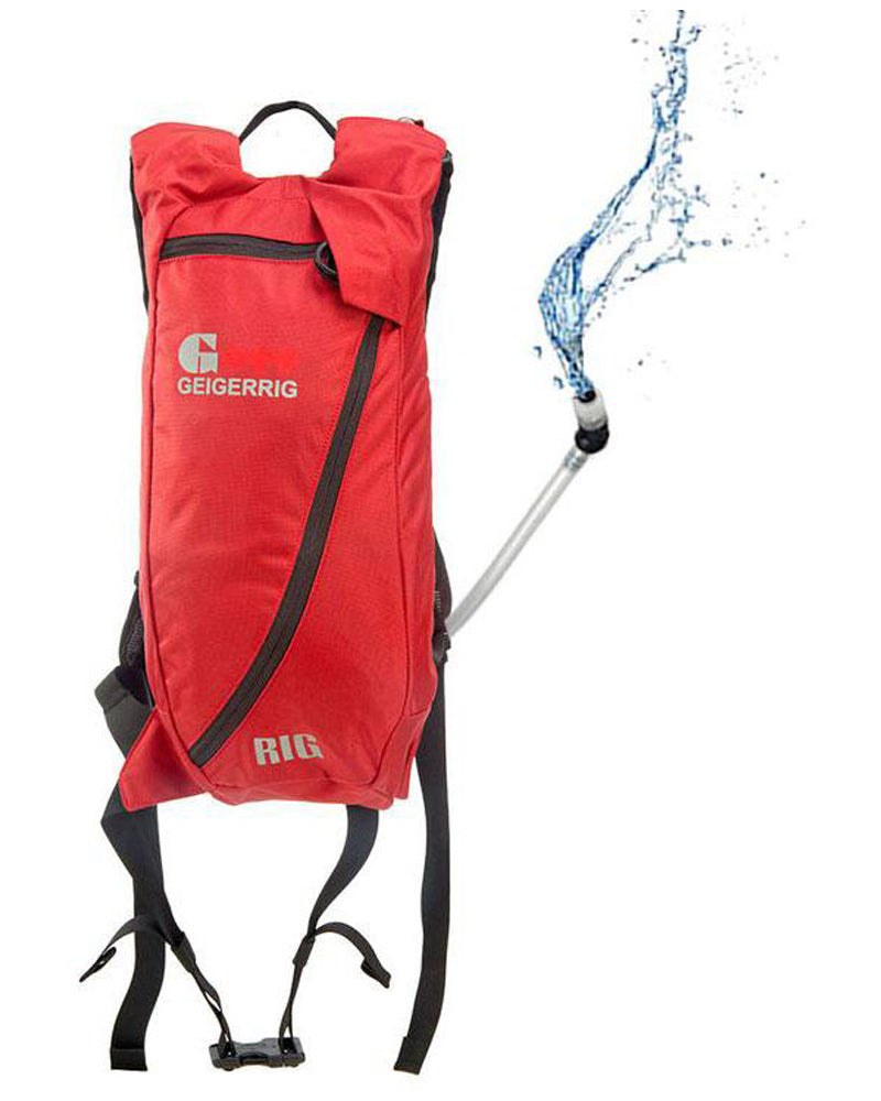 Geigerrig GEIGERRIG The Rig Performance Hydration Pack Red