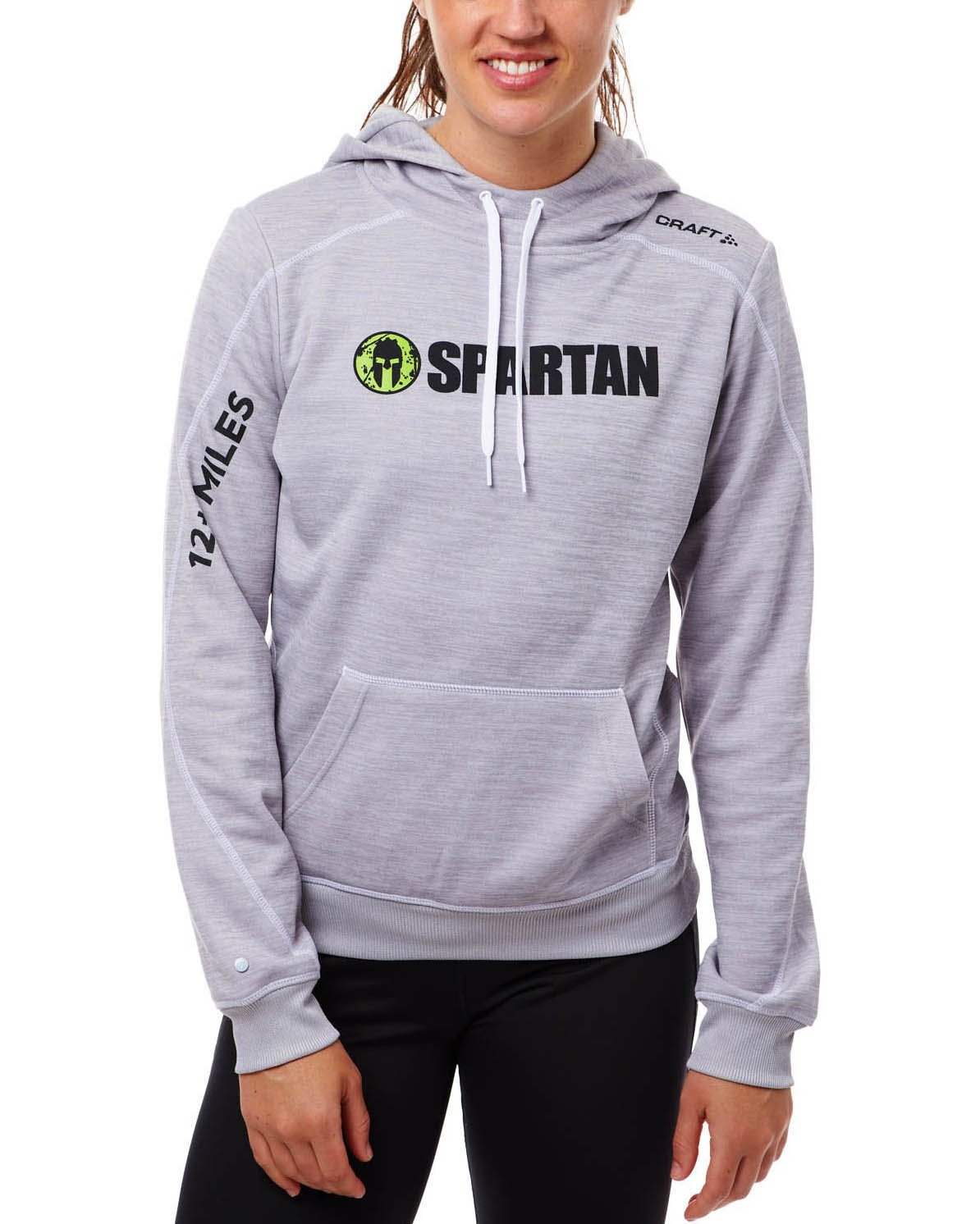 CRAFT SPARTAN By CRAFT Beast Hoodie - Women's Gray XS