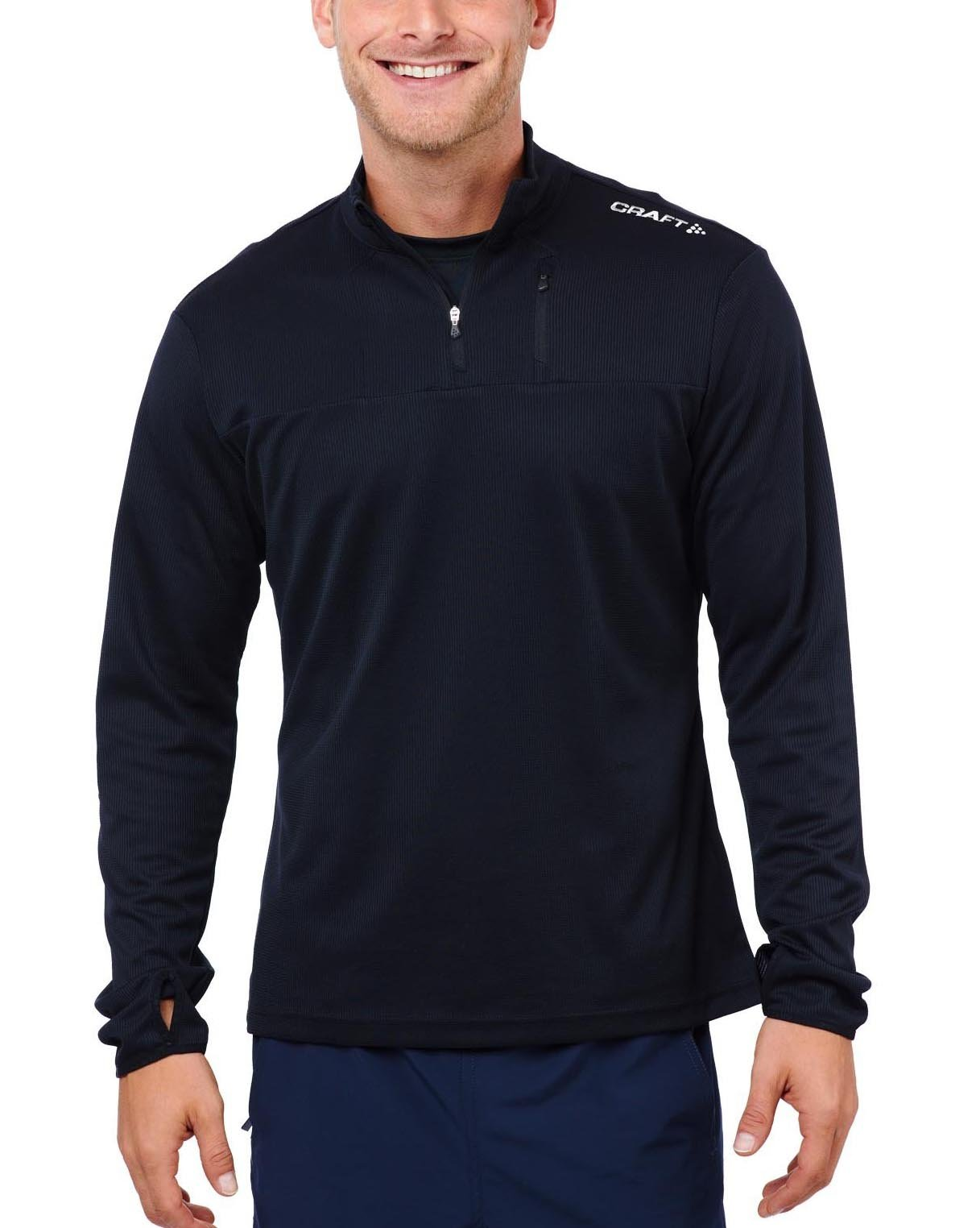 CRAFT SPARTAN By CRAFT Blaze Half Zip - Men's Black S