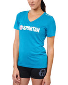 CRAFT SPARTAN By CRAFT Classic Logo Tri-Blend SS Tee - Women's Zen XS