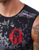 SPARTAN by CRAFT Delta Compression Singlet - Men's