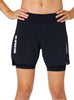 SPARTAN by CRAFT Delta 2-in-1 Compression Short - Women's