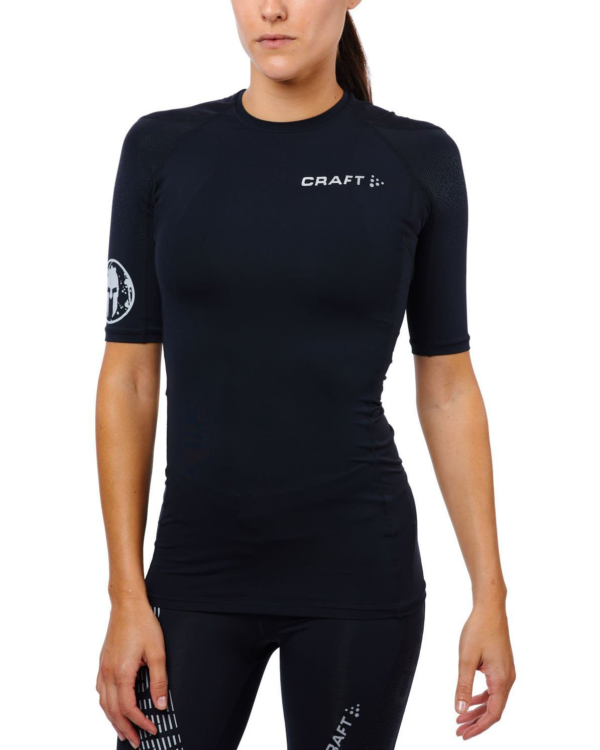 CRAFT SPARTAN By CRAFT Delta SS Compression Top - Women's Black XS