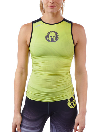 CRAFT SPARTAN By CRAFT Delta Singlet - Women's Snap Yellow XS