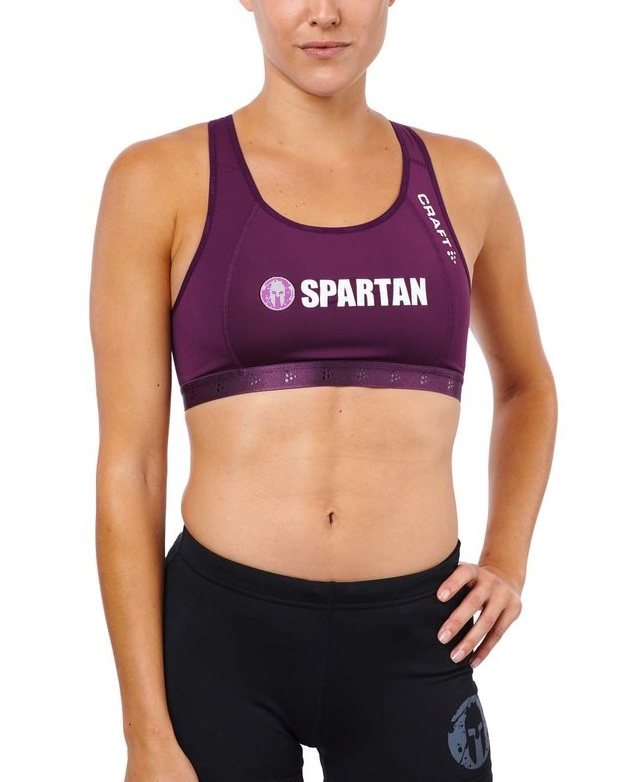 CRAFT SPARTAN By CRAFT Greatness Mid Impact Bra - Women's Tune XS