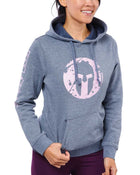 CRAFT SPARTAN By CRAFT Helmet Logo Hoodie - Women's Charcoal/Misty XS