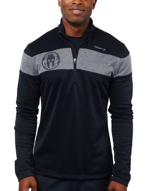 CRAFT SPARTAN By CRAFT Spark Pullover - Men's Black/Gray S
