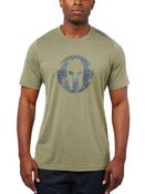 CRAFT SPARTAN By CRAFT Helmet Logo SS Tee - Men's Olive Green S