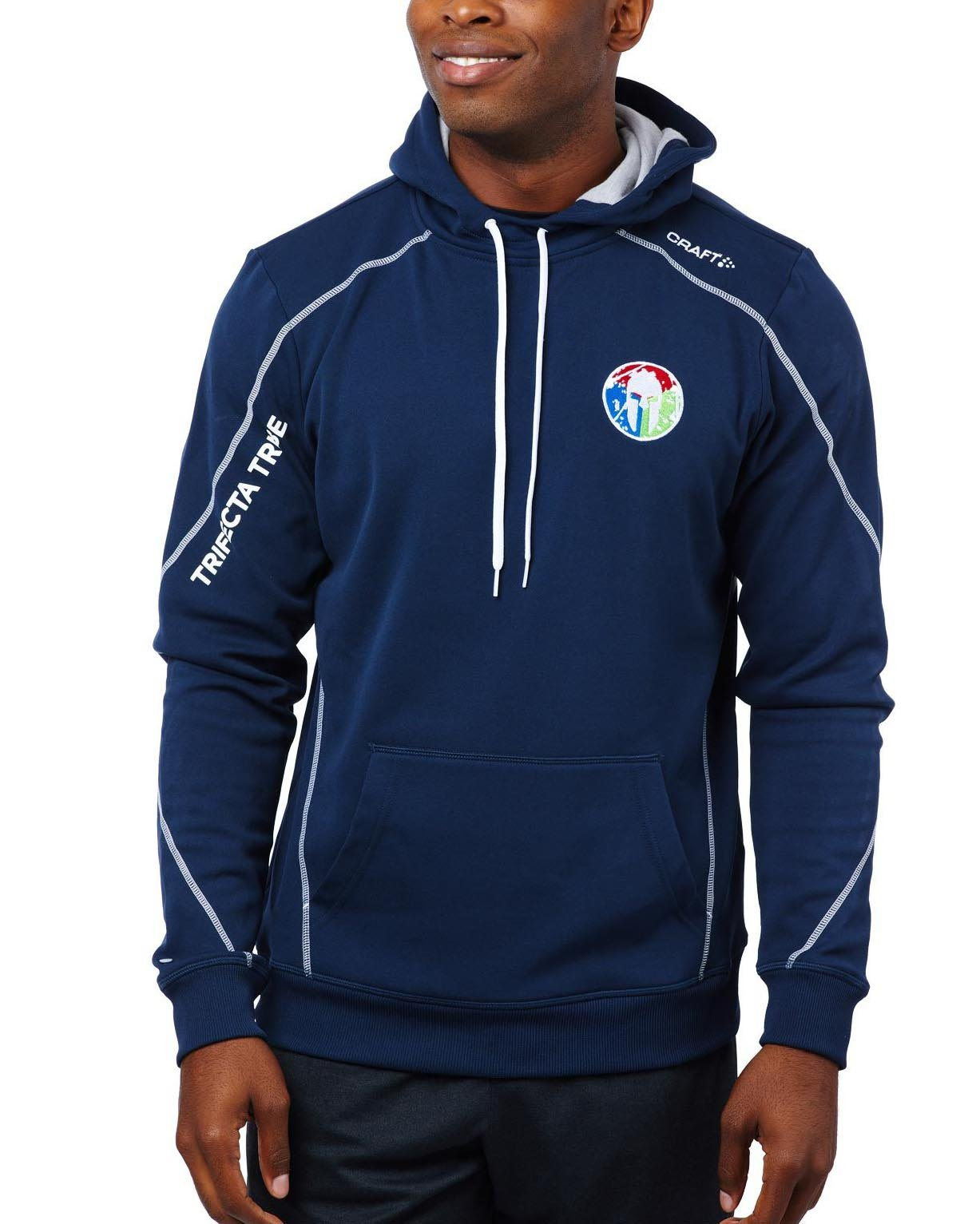 CRAFT SPARTAN By CRAFT Trifecta Hoodie - Men's Navy S