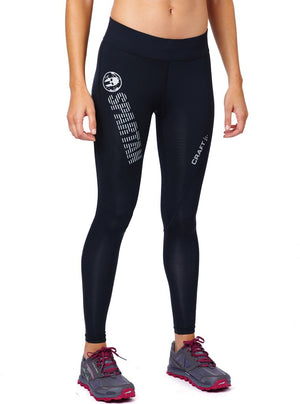 CRAFT SPARTAN By CRAFT Delta Long Compression Tight - Women's Black XS