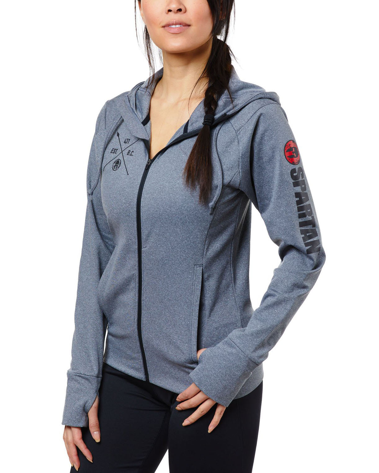 SPARTAN Performance Fleece Full Zip Hoodie - Women's