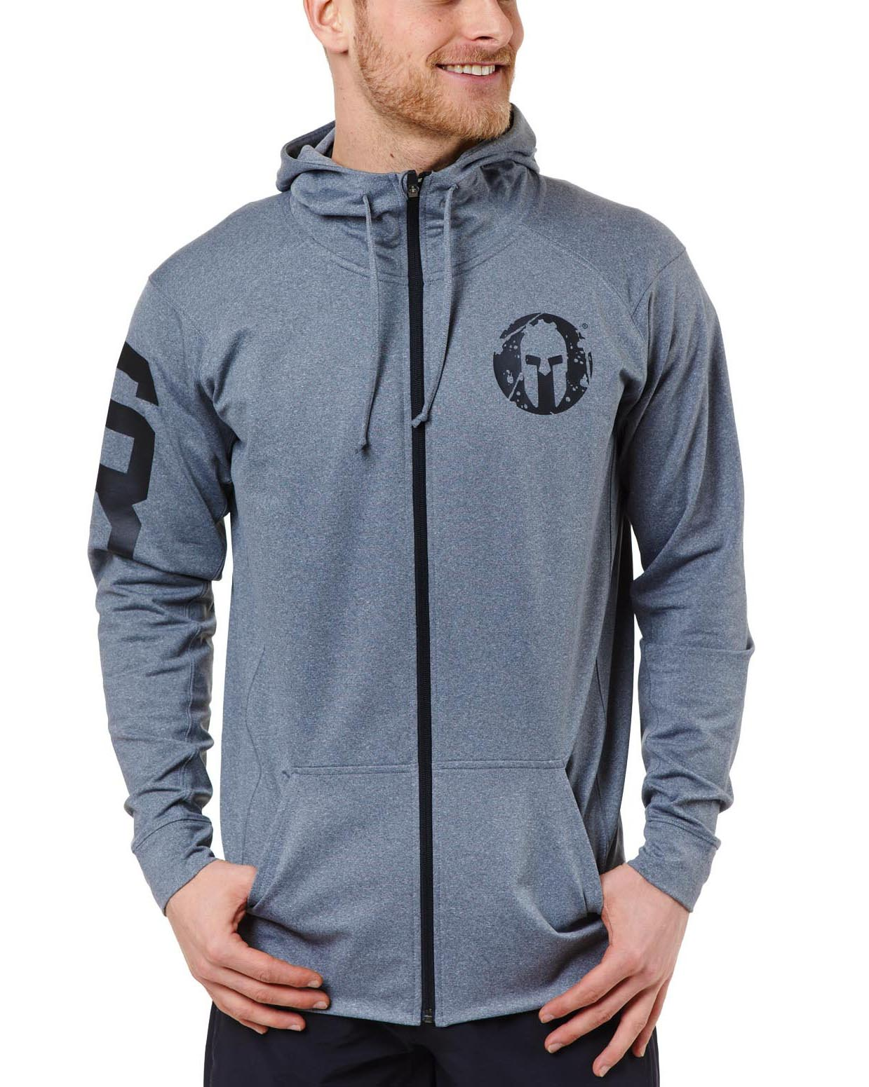 SPARTAN Performance Fleece Full Zip Hoodie - Men's