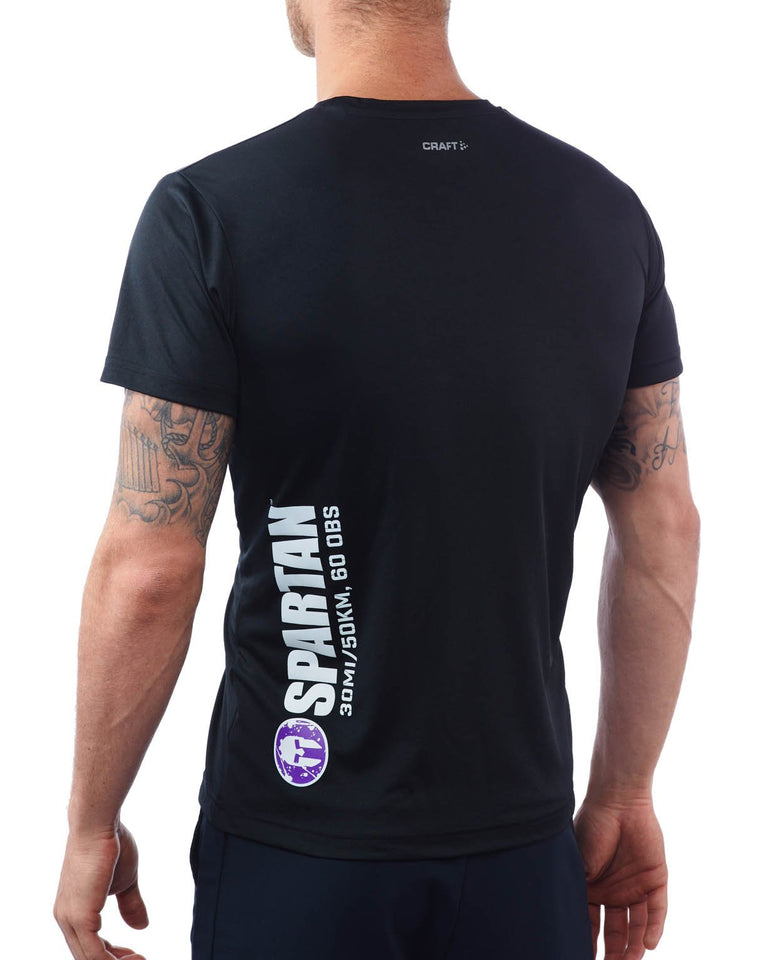 CRAFT SPARTAN By CRAFT Ultra Tech Tee - Men's Black S