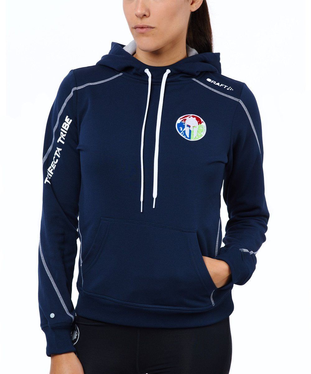 CRAFT SPARTAN By CRAFT Trifecta Hoodie - Women's Navy XS
