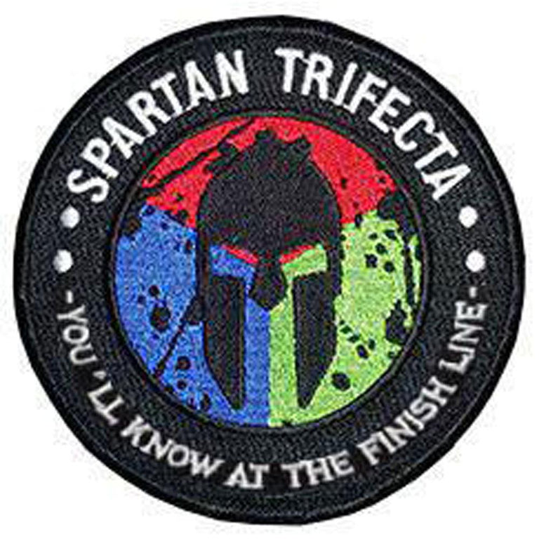 Spartan Race Shop SPARTAN Trifecta Tribe Patch