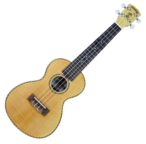 KAHUNA SPRUCE TOP/FLAME MAPLE UKE