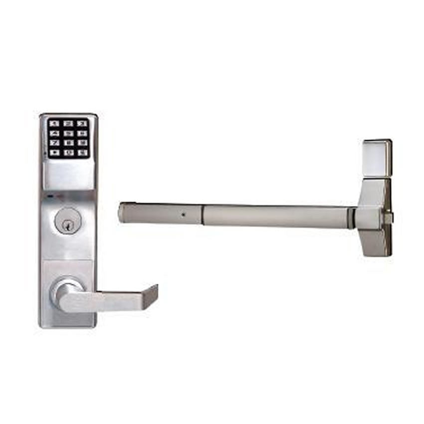 Alarm Lock ETDL<br>Trilogy Exit Panic Trim Digital Keypad Lock w/ Audit TrailKeyless LocksAlarm Lock - Door Resources