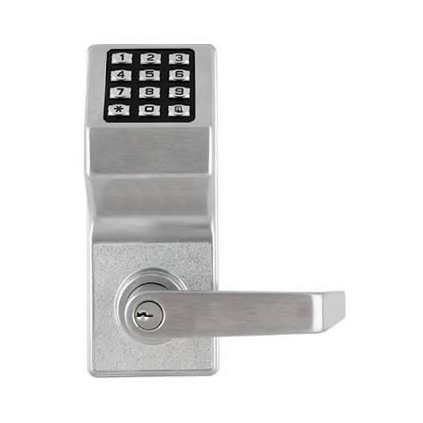 Alarm Lock DL2700WP<br>Weatherproof Keyless Cylindrical T2 Pin LockKeyless LocksAlarm Lock - Door Resources