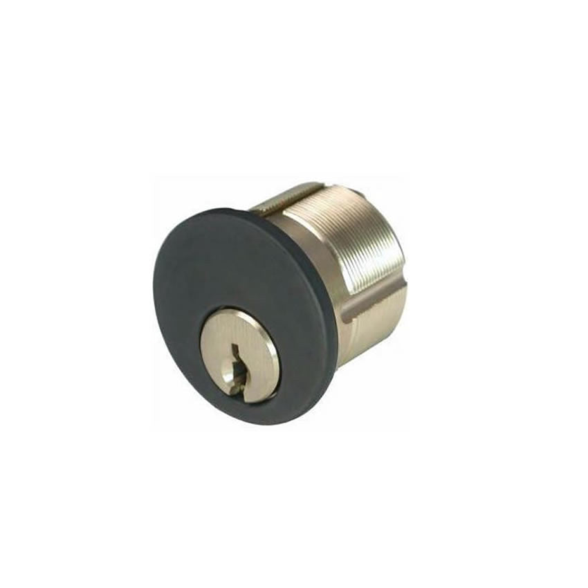 "GMS M118-G23 1 1/8"" Mortise Cylinder Schlage C123 Keyway"