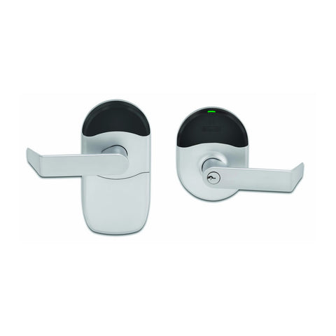 Schlage NDE80<br>Cylindrical Wireless Prox Card Reader Lock w/ 5 FREE Prox CardsKeyless LocksSchlage - Door Resources