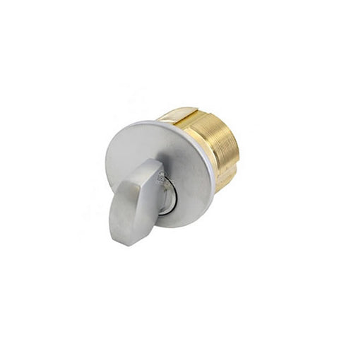 "GMS M100T<br>1"" Mortise cylinder thumbturnMortise CylinderGMS - Door Resources"