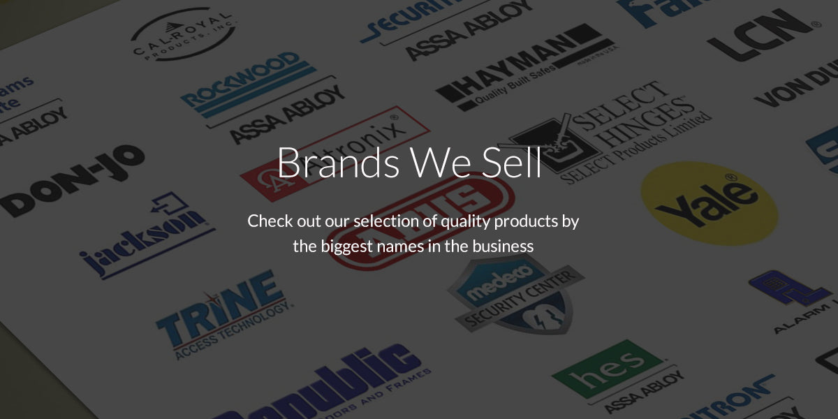 Brands We Sell