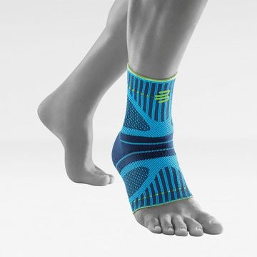 Bauerfeind Sports Ankle Support Dynamic - Ankle Compression Sleeve for Freedom of Movement - 3D Air Knit Fabric for Breathability - Premium Brace
