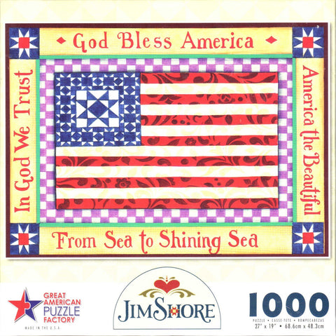 America The Beautiful 1000 Piece Puzzle