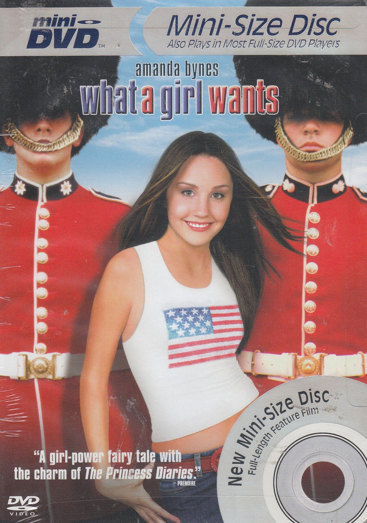What A Girl Wants [Mini-Sized Disc]