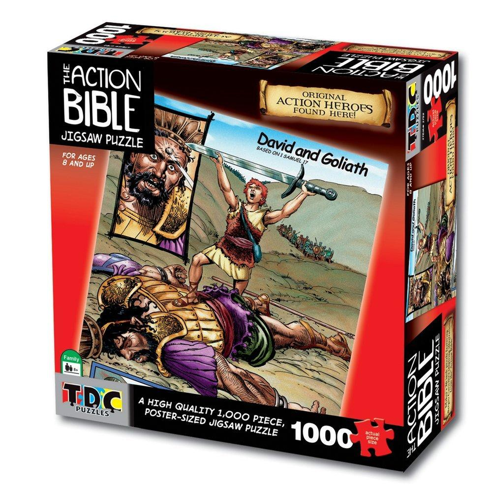 David and Goliath 1000 Piece Puzzle