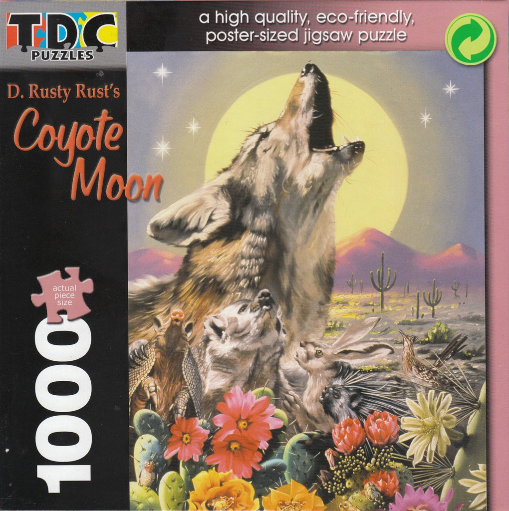Coyote Moon 1000 Piece Puzzle
