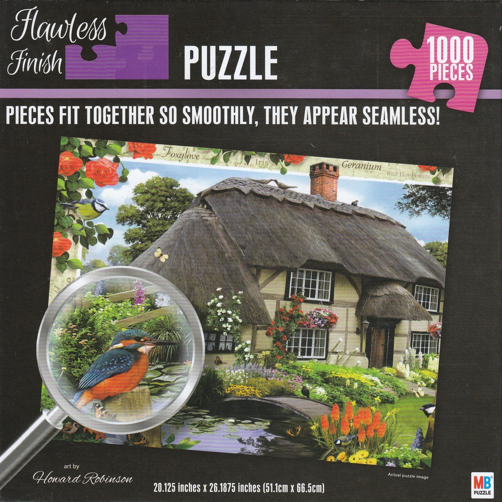 Flawless Finish - Thatched House 1000 Piece Puzzle