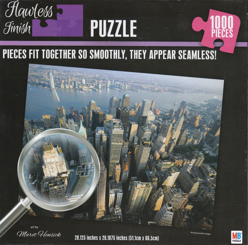 Flawless Finish - New York City Skyscraper 1000 Piece Puzzle