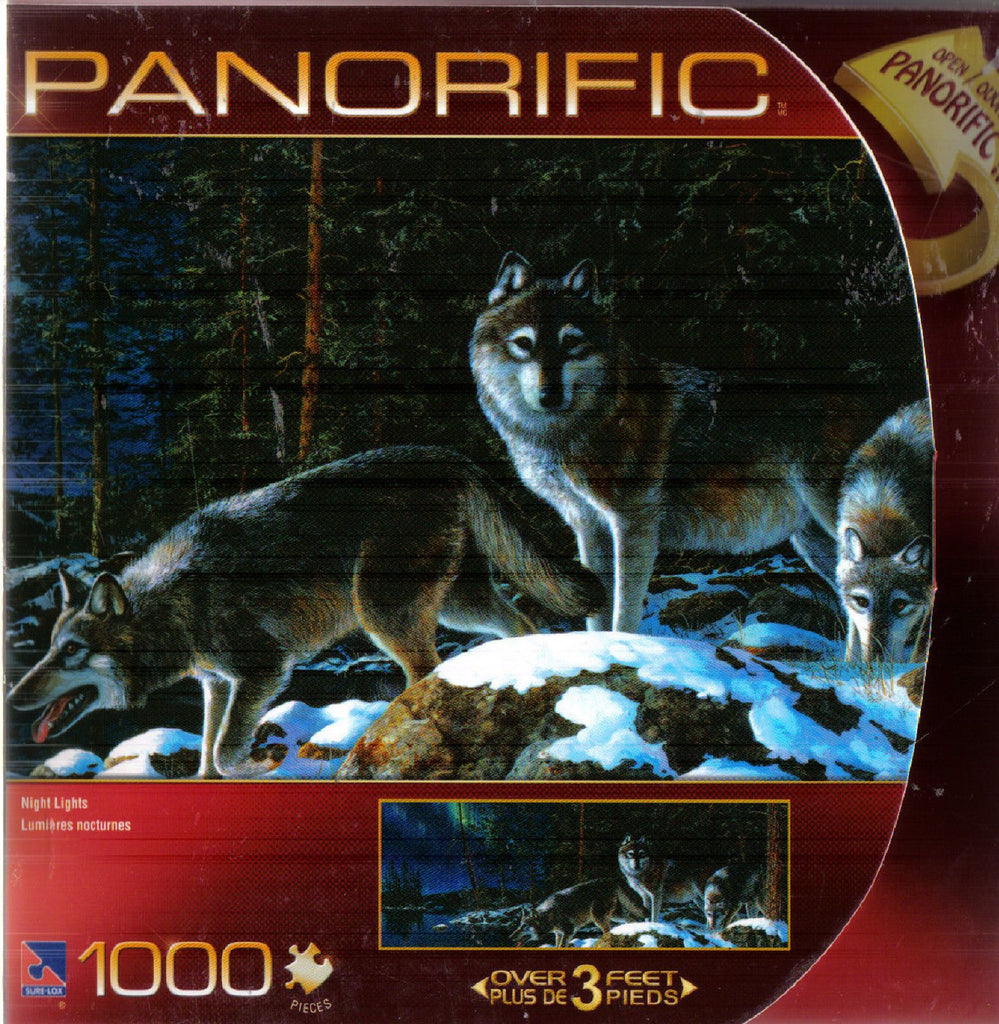 Panorific Night Lights1000 Peice Puzzle