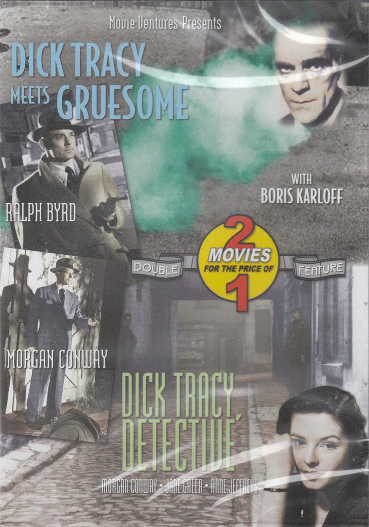 Dick Tracy Meets Gruesome/Dick Tracy Detective