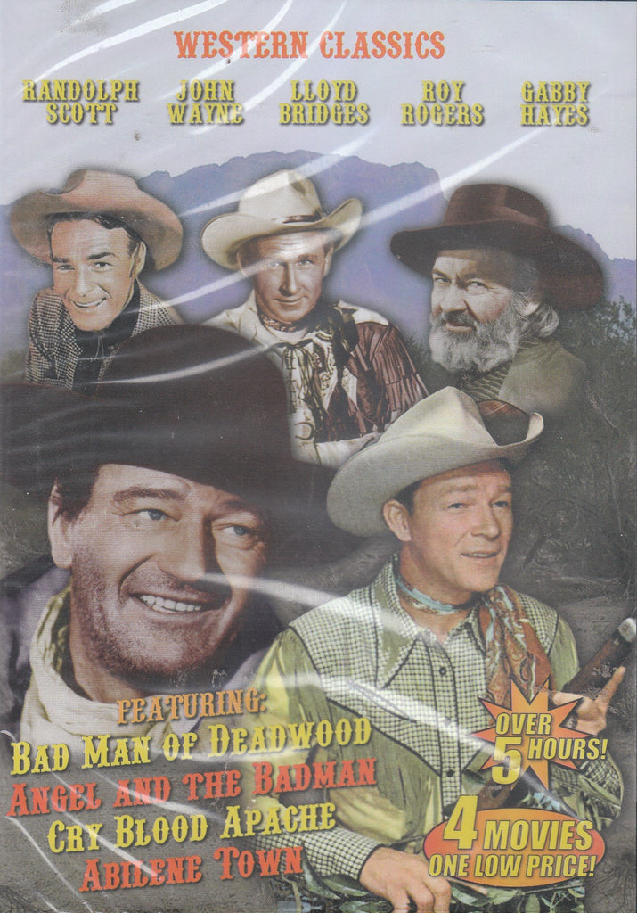 Bad Man of Deadwood / Angel and the Badman / Cry Blood Apache / Abilene Town