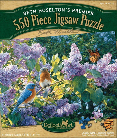 Spring Interlude 550 Piece Puzzle