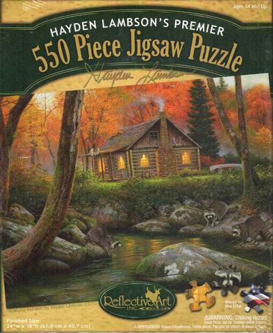 Weekend Retreat 550 Piece Puzzle