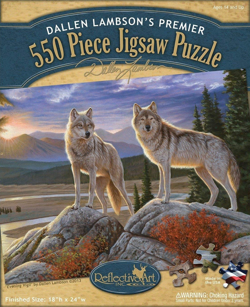 Evening Vigil 550 Piece Puzzle