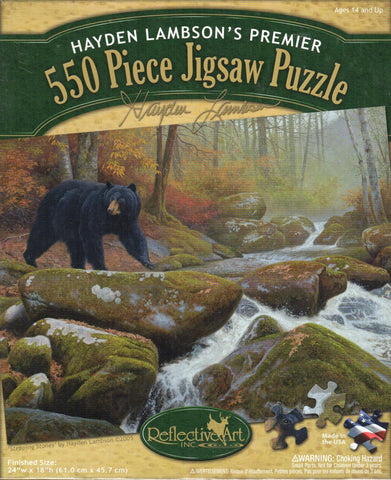 Stepping Stones 550 Piece Puzzle
