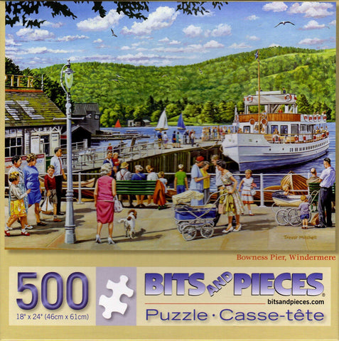 Bowness Pier Windermere 500 Piece Puzzle