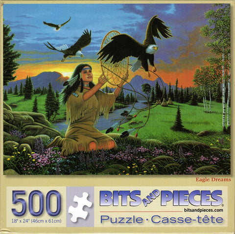 Eagle Dreams 500 Piece Puzzle