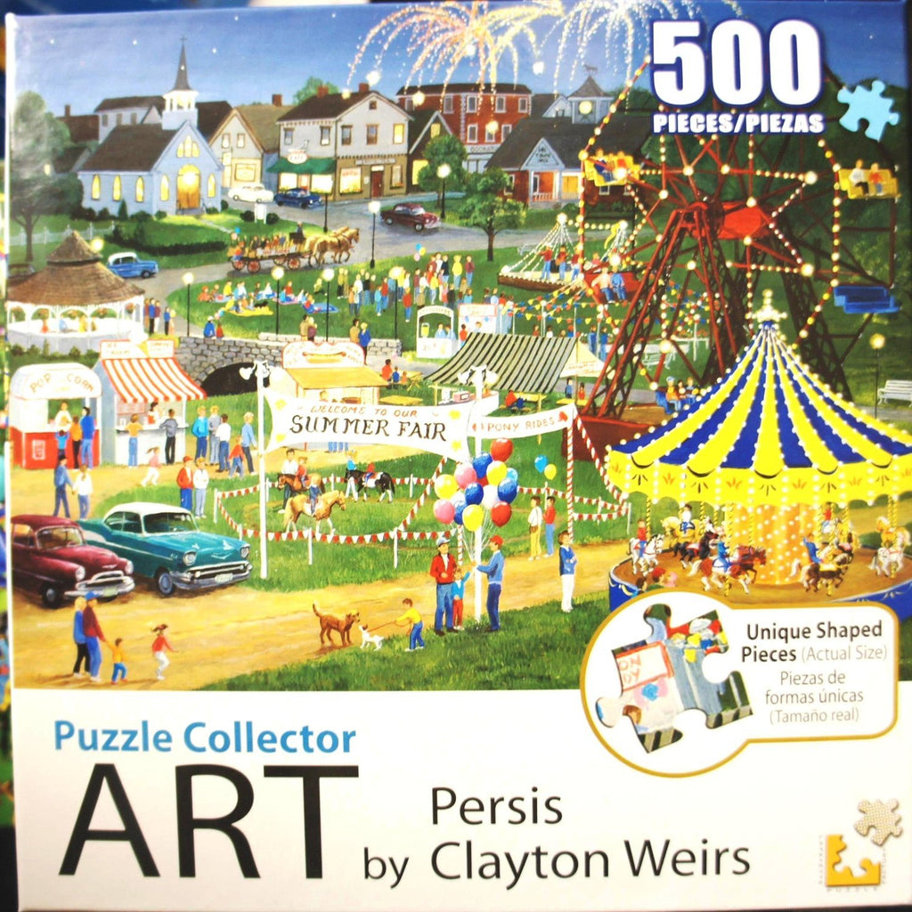Puzzle Collector Art 1000 Piece Puzzle - Country Fair