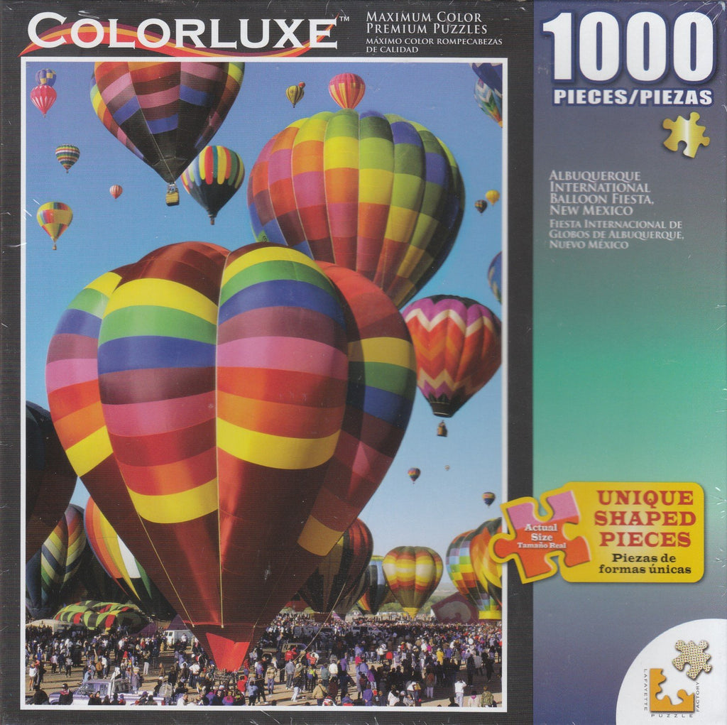 Colorluxe 1000 Piece Puzzle - Albuquerque International Balloon Fiesta
