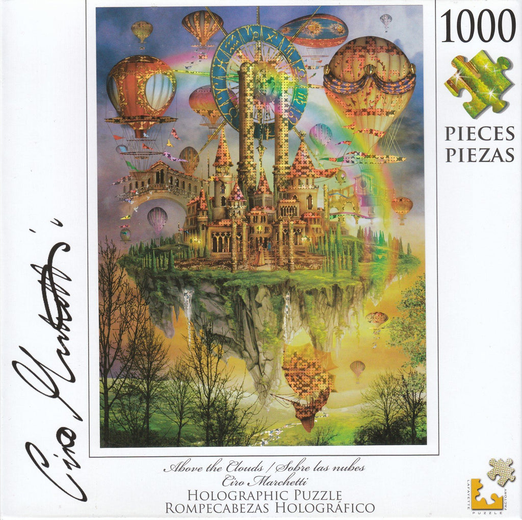 Holographic Puzzle Above the Clouds 1000 Piece